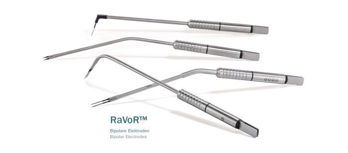 Bipolaariset RaVoR-elektrodit